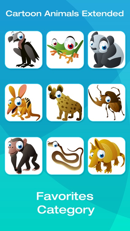 Safari and Jungle Animal Picture Flashcards for Babies, Toddlers or Preschool (Free) screenshot-4