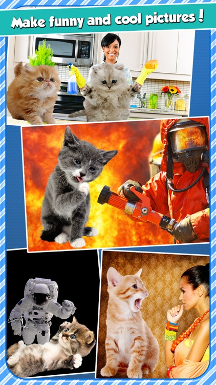 InstaKitty - A Funny Picture Editor with Cute Cats and Kitties Stickers
