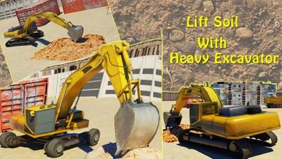 掘削機シミュレータ3D - 建設クレーンに本当の駐車シミュレーションゲームをドライブのおすすめ画像4