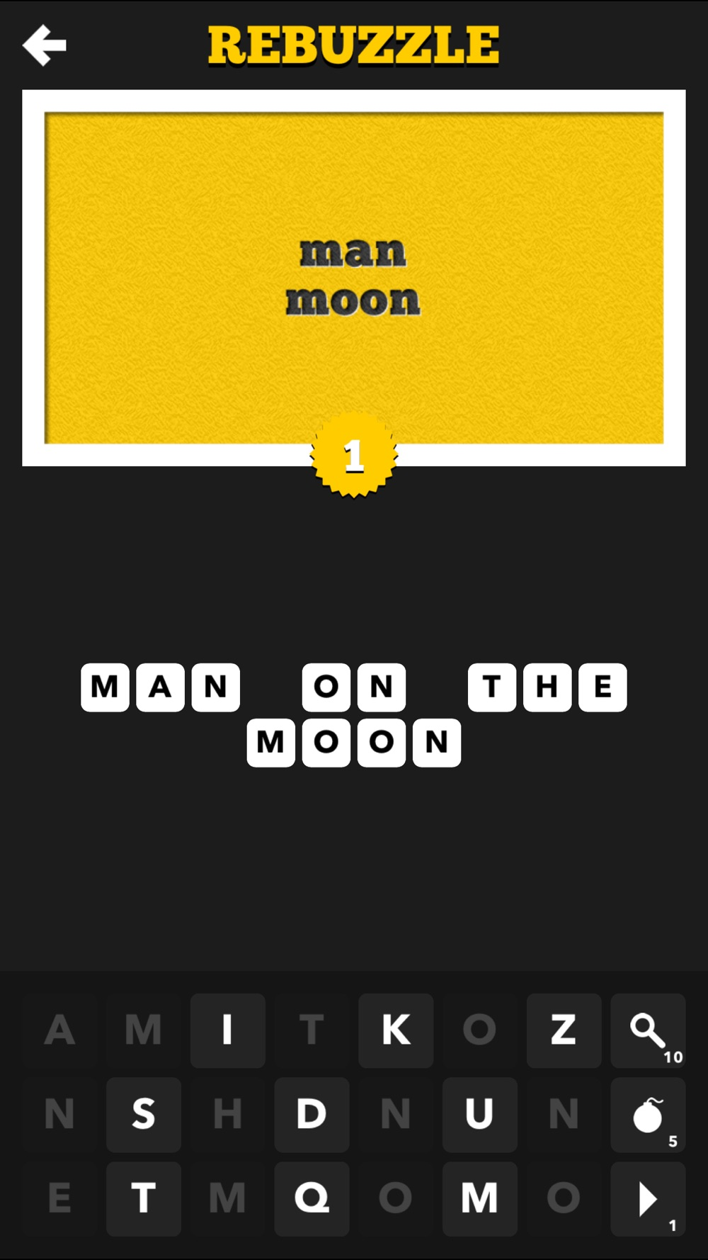 Rebuzzle - A Rebus Word Puzzle Game hack tool