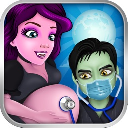 Monster Mommy's Newborn Baby Doctor - my new girl salon & pregnancy make-up games for kids 2