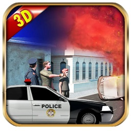 Real Crime City Police  911 Rescue Actions Cop Car VS Extreme Thieves