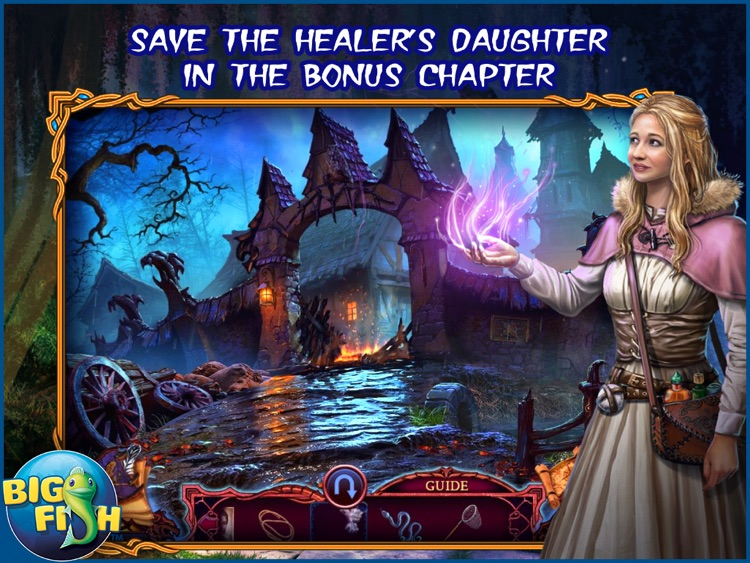 League of Light: Wicked Harvest HD - A Spooky Hidden Object Game screenshot-3
