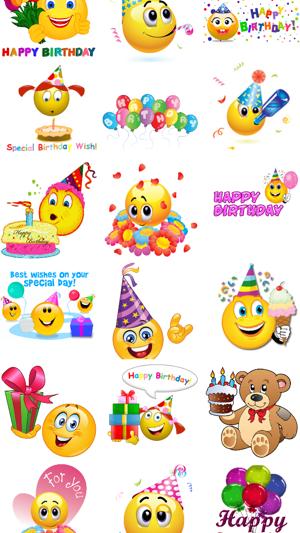 Birthday Emojis Im App Store