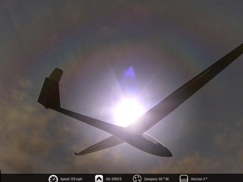 Screenshot #1 for Glider - Soar the Skies