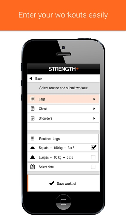 Strength+ Workout Tracker