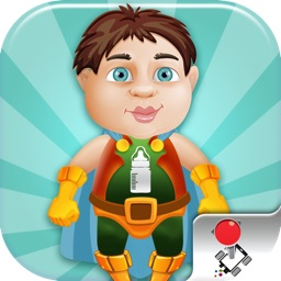 Extreme Baby Mega Jump - The Most Addicting and Challenging Superhero Game