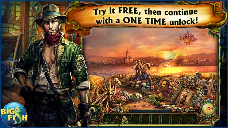 Dark Parables: Jack and the Sky Kingdom - A Hidden Object Fairy Tale screenshot-0