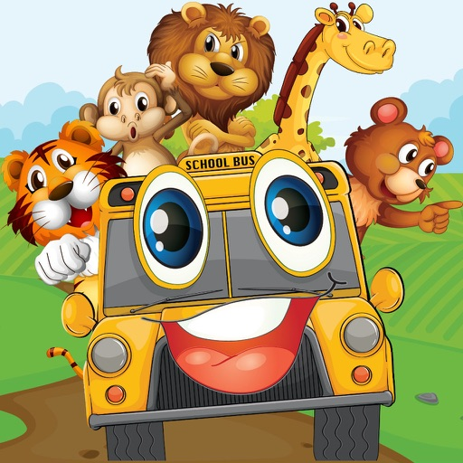 Animal Cars Party Free: Fun Games for Preschool Kids
