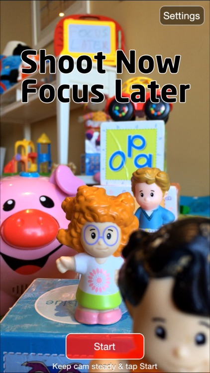 Focus Later: Shoot Now - Adjust Focus Later Light Field Camera screenshot-0