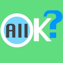 All OK?