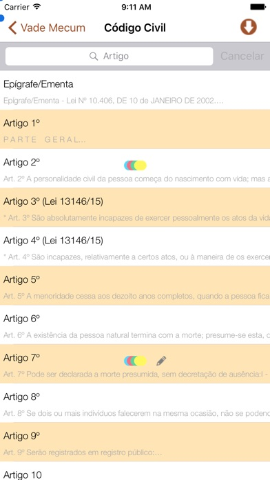 Vade Mecum Pro Direito Brasil Скриншоты4