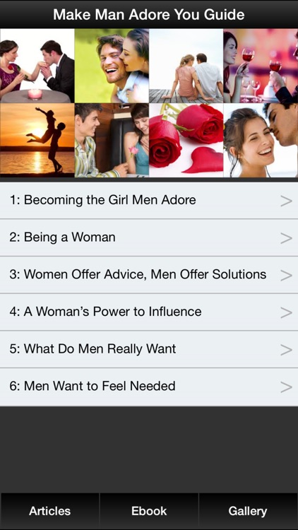 Make Man Adore You Guide - How To Become The Girl That Men Adore & Love