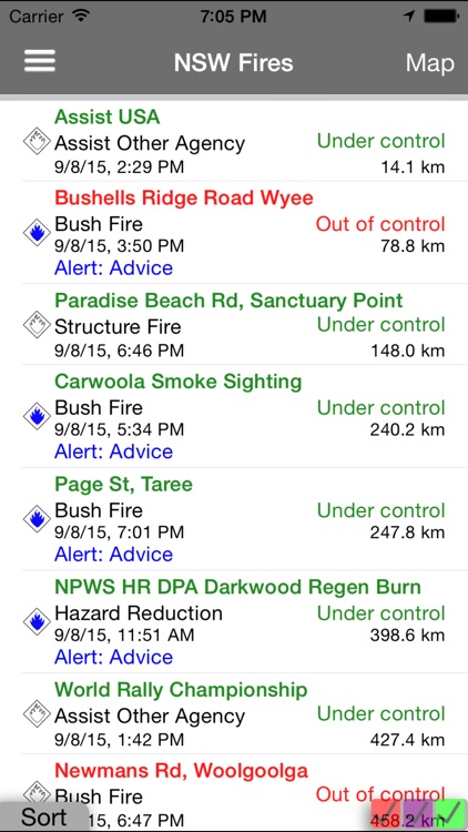 NSW Fires screenshot-1