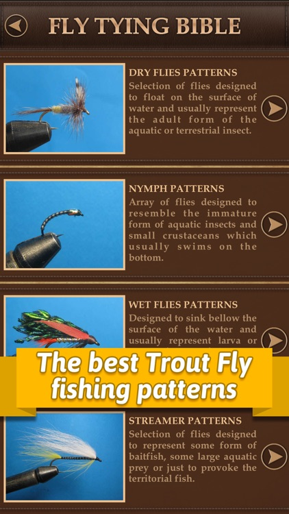 Fly Tying Bible Trout Flies - Step by Step Fishing Tutorials for Tying Pro Patterns