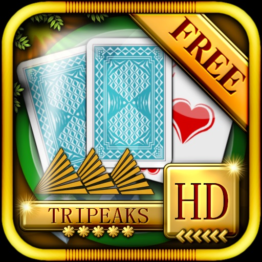 ACC Solitaire [ TriPeaks ] HD Free - Classic Card Games for iPad & iPhone icon