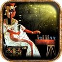 Ägyptisches Senet (Spiel des alten Ägypten) Anubis ruft dich, als ...