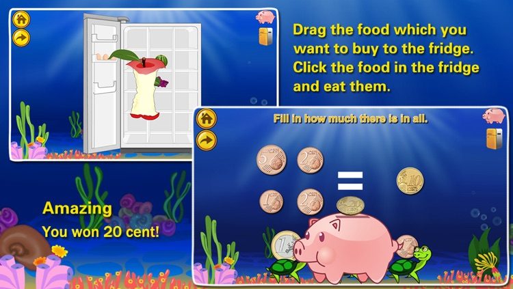 Euro€(LITE): Coin Math for kids, educational  learning games education screenshot-4