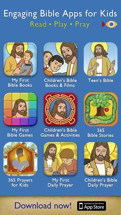 365 Prayers for Kids PREMIUM – A Daily Illustrated Prayer for your Family and School with Kids under 7 screenshot-4