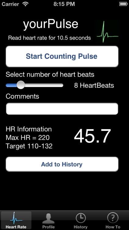 yourPulse screenshot-1