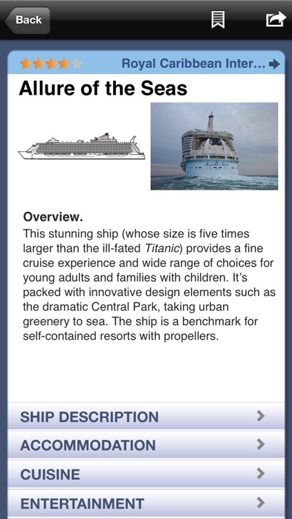 Berlitz Cruise Ships 2014 - A Directory Of Oceangoing Cruise Ships By Douglas Ward screenshot-2