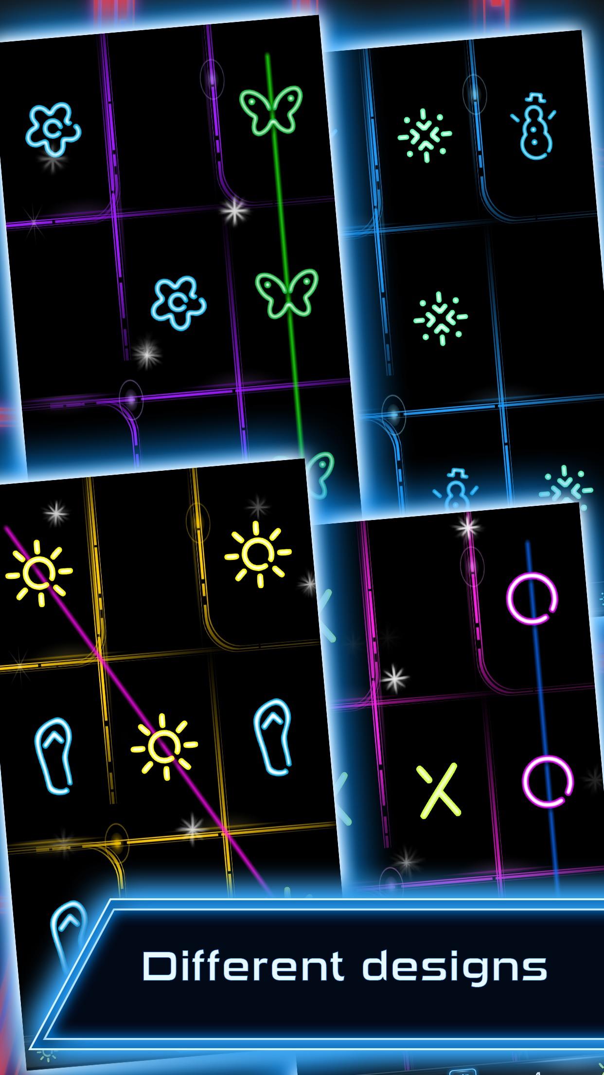 Tic Tac Toe Glow FREE Screenshot