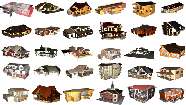 3D Houses V2 PRO Free Screenshot