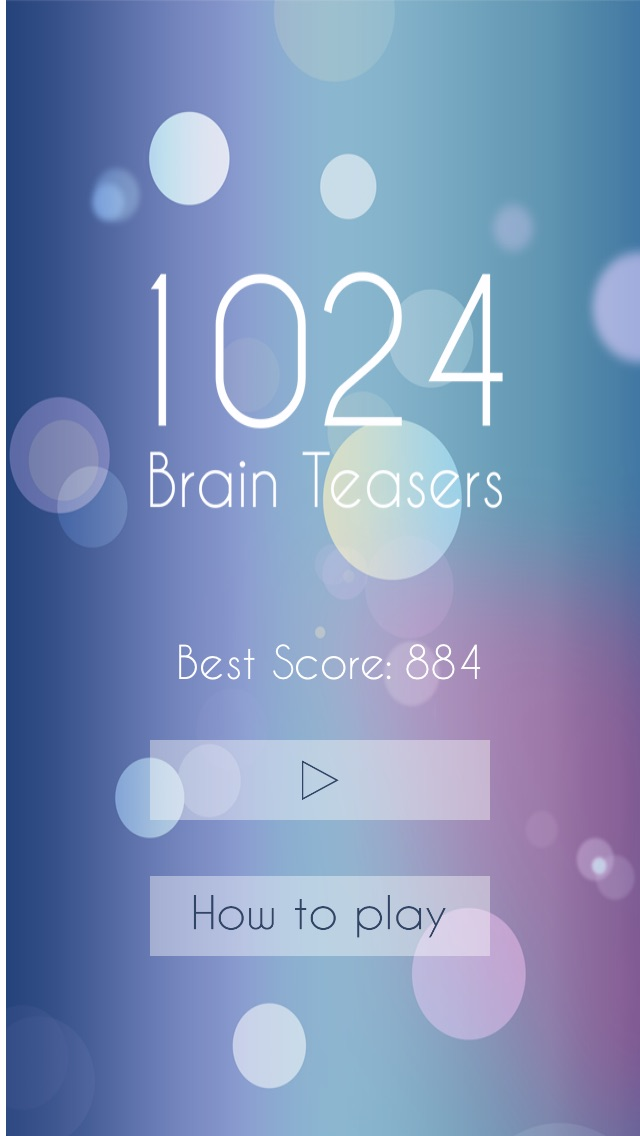 1024 Brain Teasers - Cool block puzzle game-1
