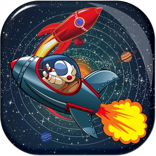 Space Ship Shooting Match Puzzle Blitz - Tap Number Blast Away Attack Battle Free