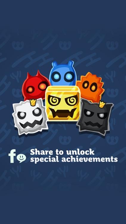 oNomons - Free Match 3 Puzzle Game screenshot-4