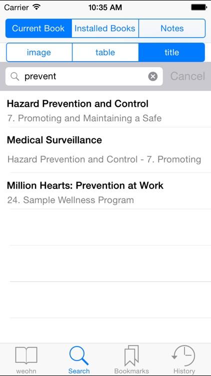Essentials for Occupational Health Nursing screenshot-3