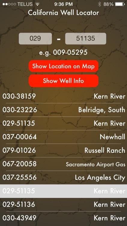 California Oil Well Locator screenshot-4