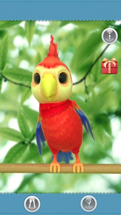 Talking Polly the Parrot FREE screenshot-3