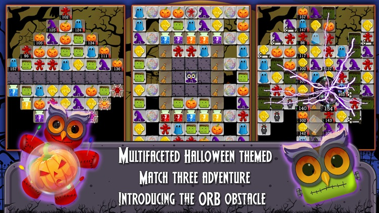 Halloween Drops 2 - Match three puzzle