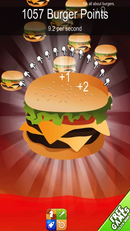 Burger Clicker Madness