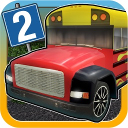 Bus Parking 3D Race App 2 - Play the new free classic city driver game simulator 2015