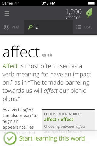 Vocabulary.com screenshot 4