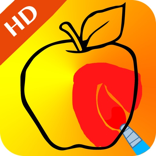 Fruit Painting for Kids HD