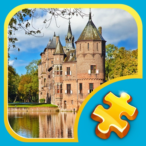 Jigsaw Puzzles: Water Castles icon