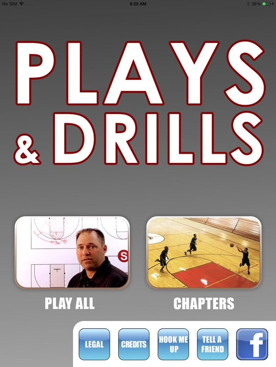 Plays & Drills: A Winning Playbook  - With Coach Bill Mellis - Full Court Basketball Training Instruction - XL