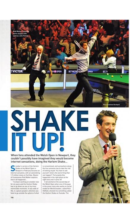 World Snooker Championship Official Programme screenshot-4