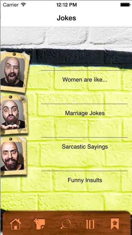 Jokes - Funny insults that make you laugh! screenshot-3