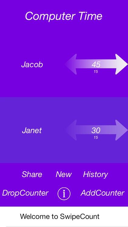 SwipeCount screenshot-3