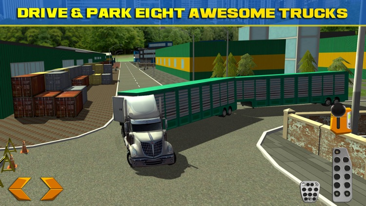Trucker Parking Simulator Real Monster Truck Car Racing Driving Test
