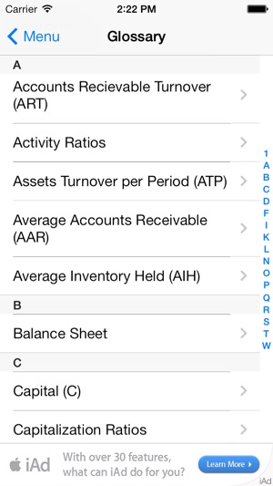 PLAD Financial Ratio Analysis On The App Store