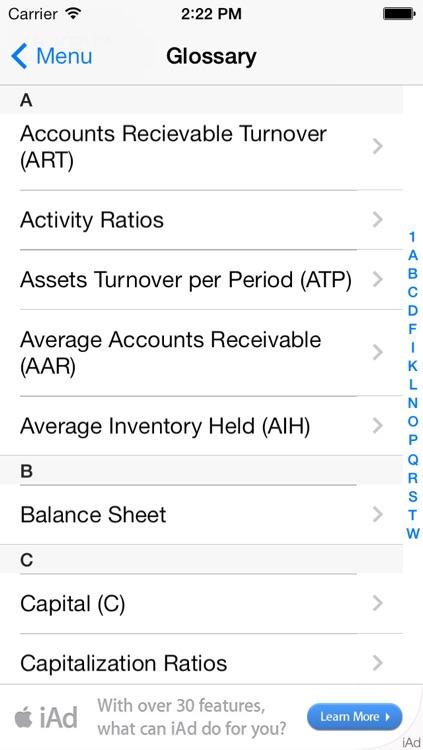 P.L.A.D.™ Financial Ratio Analysis screenshot-4
