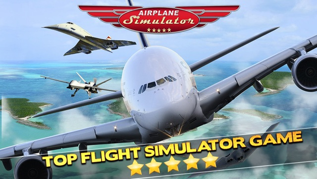 3D Plane Flying Parking Simulator Game - Real Airplane Driving Test Run Sim Racing Games Screenshot