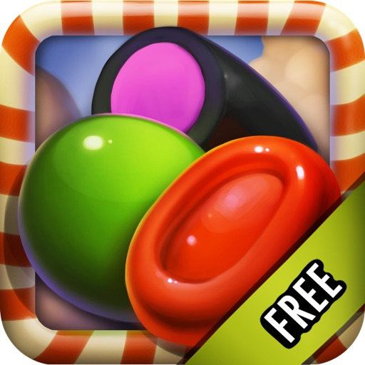 Candy Games Mania Match 3 Puzzle HD FREE Icon
