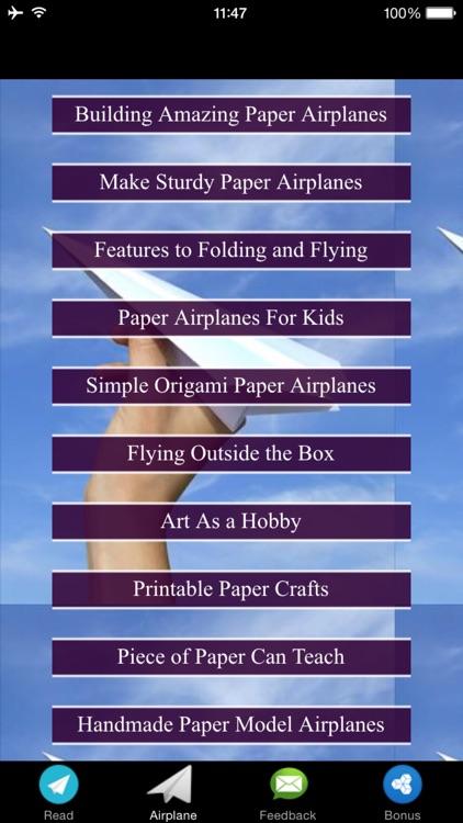Paper Airplane Designs & Tutorials