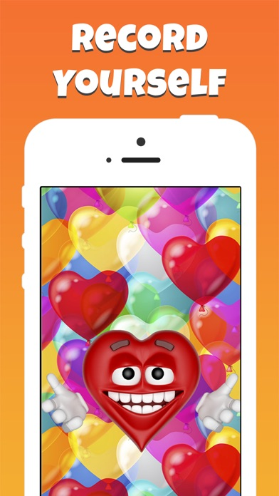 Screenshot 1 For Emoji Voice Modifier Happy Birthday Video Greetings